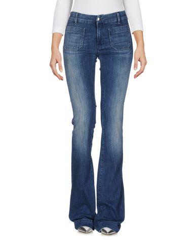 Купить Джинсовые брюки от THE SEAFARER синего цвета