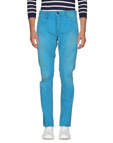 Купить Джинсовые брюки бирюзового цвета