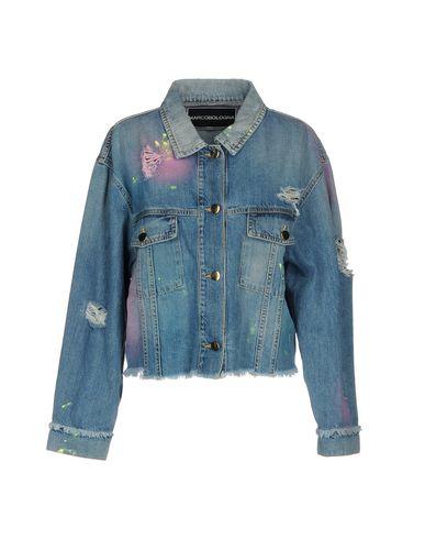Купить Джинсовая верхняя одежда от MARCO BOLOGNA синего цвета