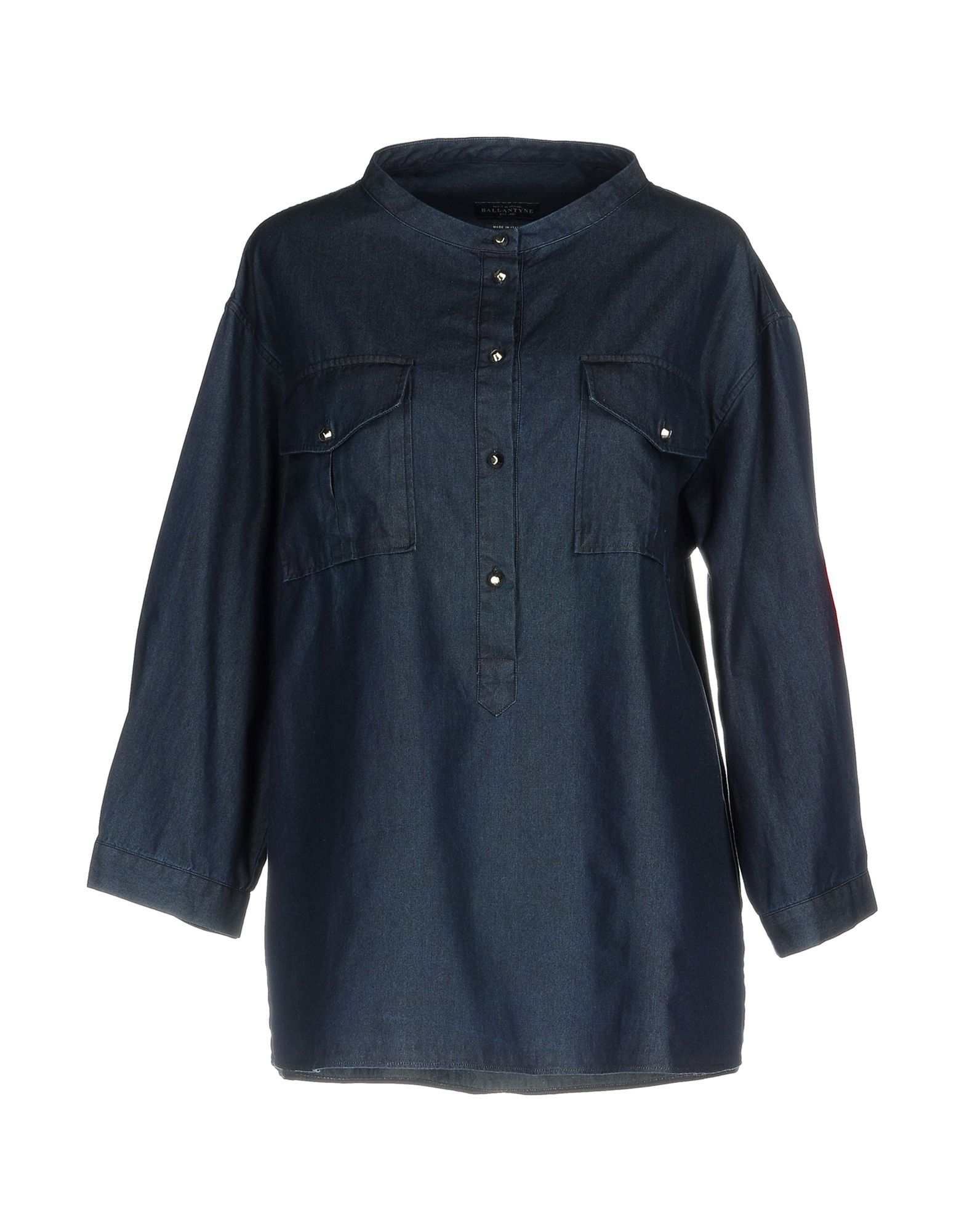 BALLANTYNE Джинсовая рубашка life sux джинсовая рубашка