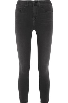 RAG & BONE/JEAN The Capri cropped high-rise skinny jeans