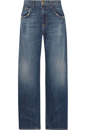 CURRENT/ELLIOTT Faded boyfriend jeans