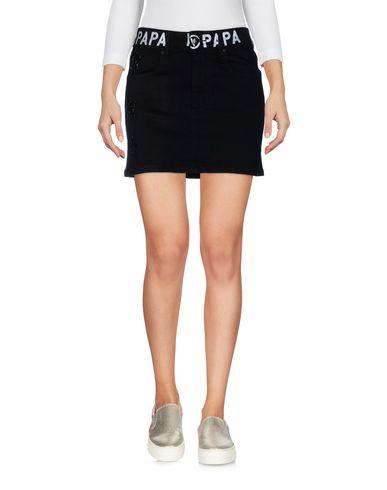 Фото - Джинсовая юбка от FAP  FILLES A PAPA черного цвета