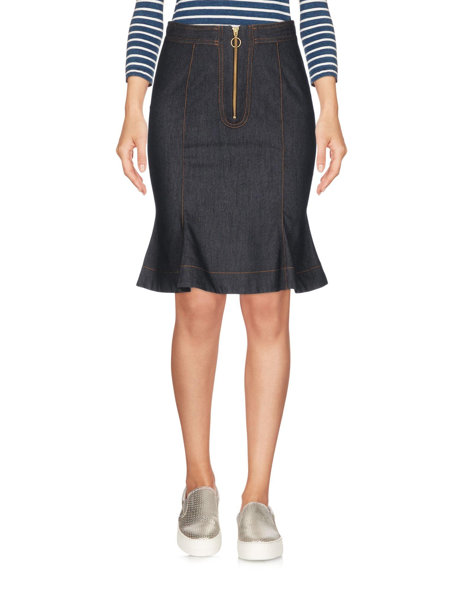 NINEMINUTES Джинсовая юбка nineminutes джинсовая юбка