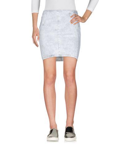 Фото - Джинсовая юбка светло-серого цвета