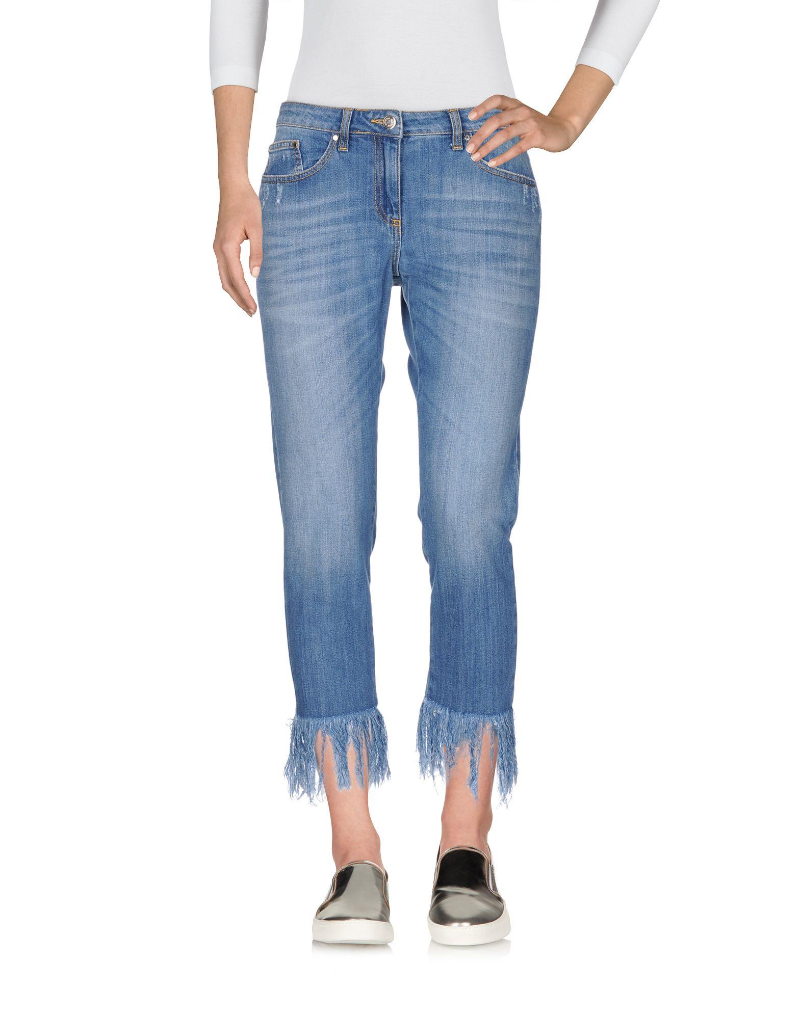 ANNARITA N TWENTY 4H Джинсовые брюки-капри цена 2017