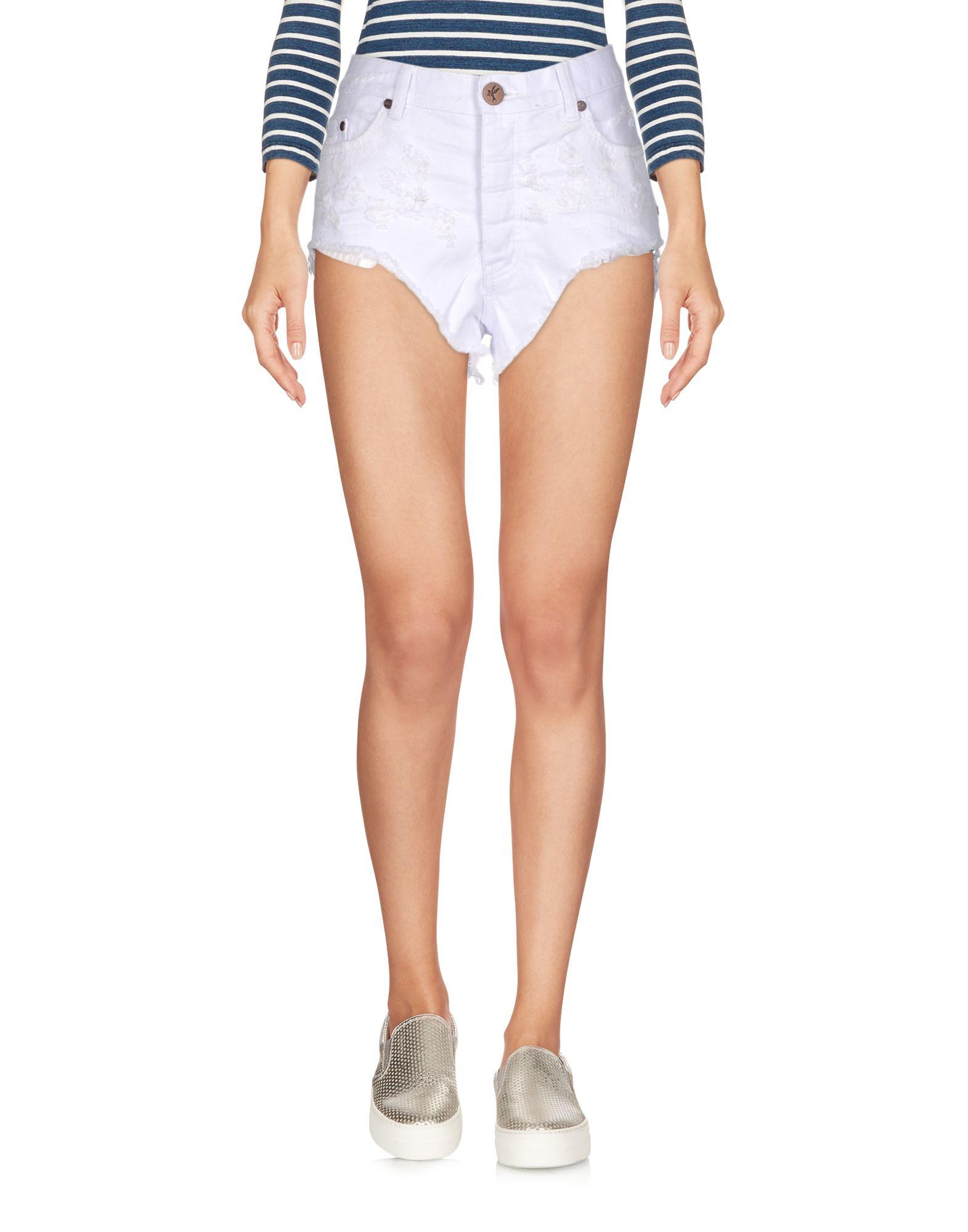 ONE Джинсовые шорты superfine джинсовые шорты