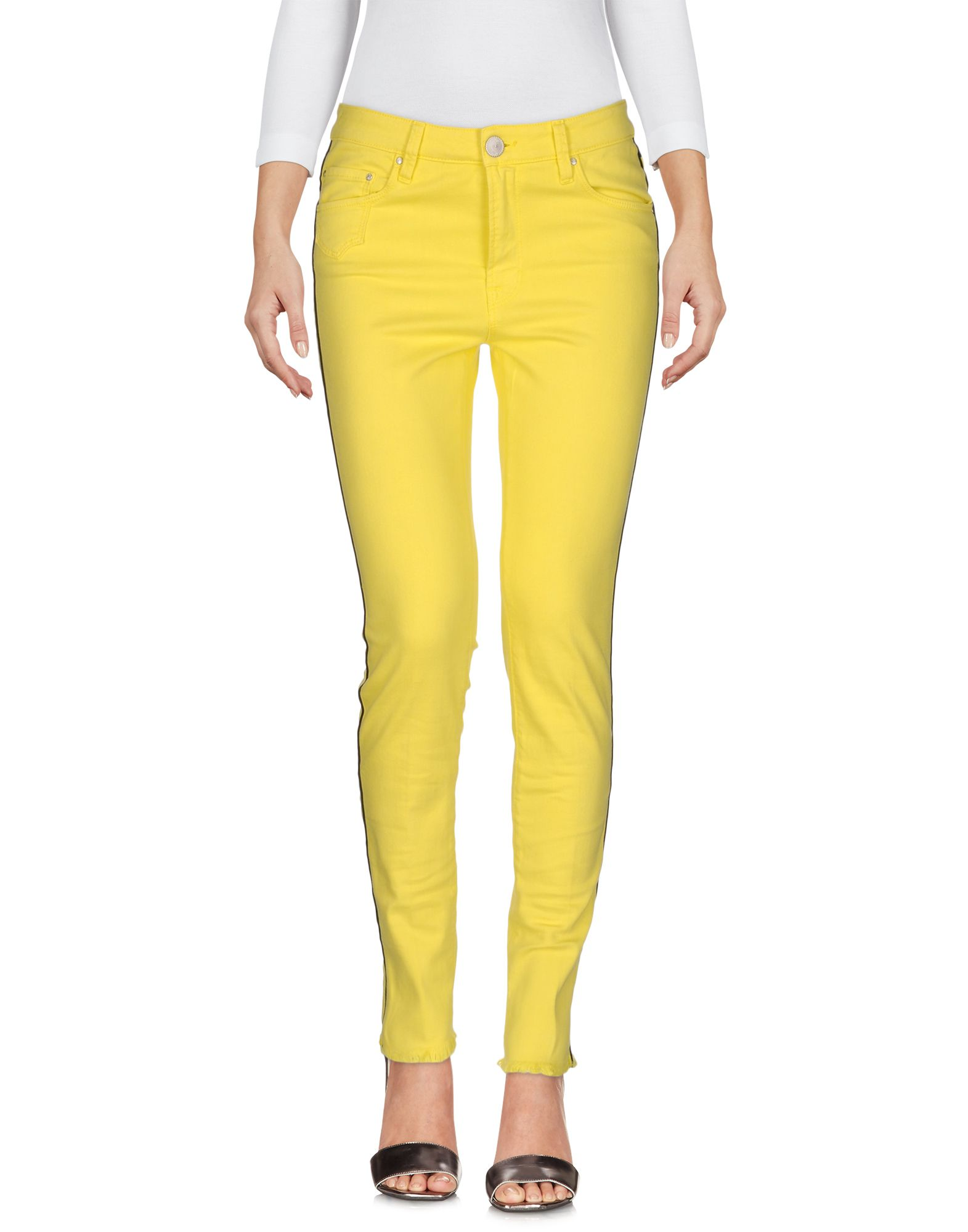 DONT CRY Denim Pants in Yellow