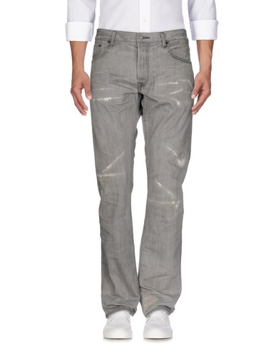 Фото - Джинсовые брюки серого цвета