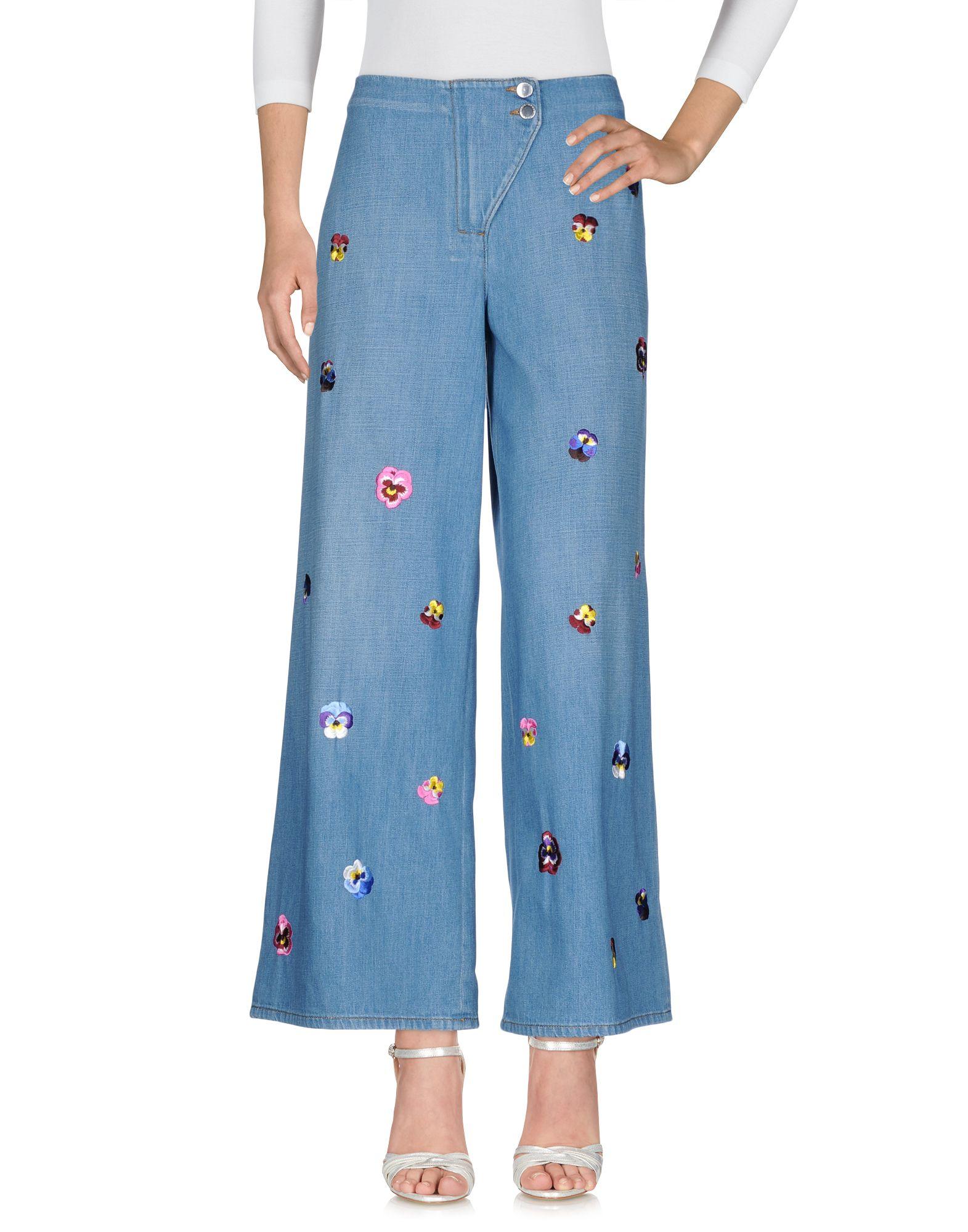 CHRISTOPHER KANE Джинсовые брюки