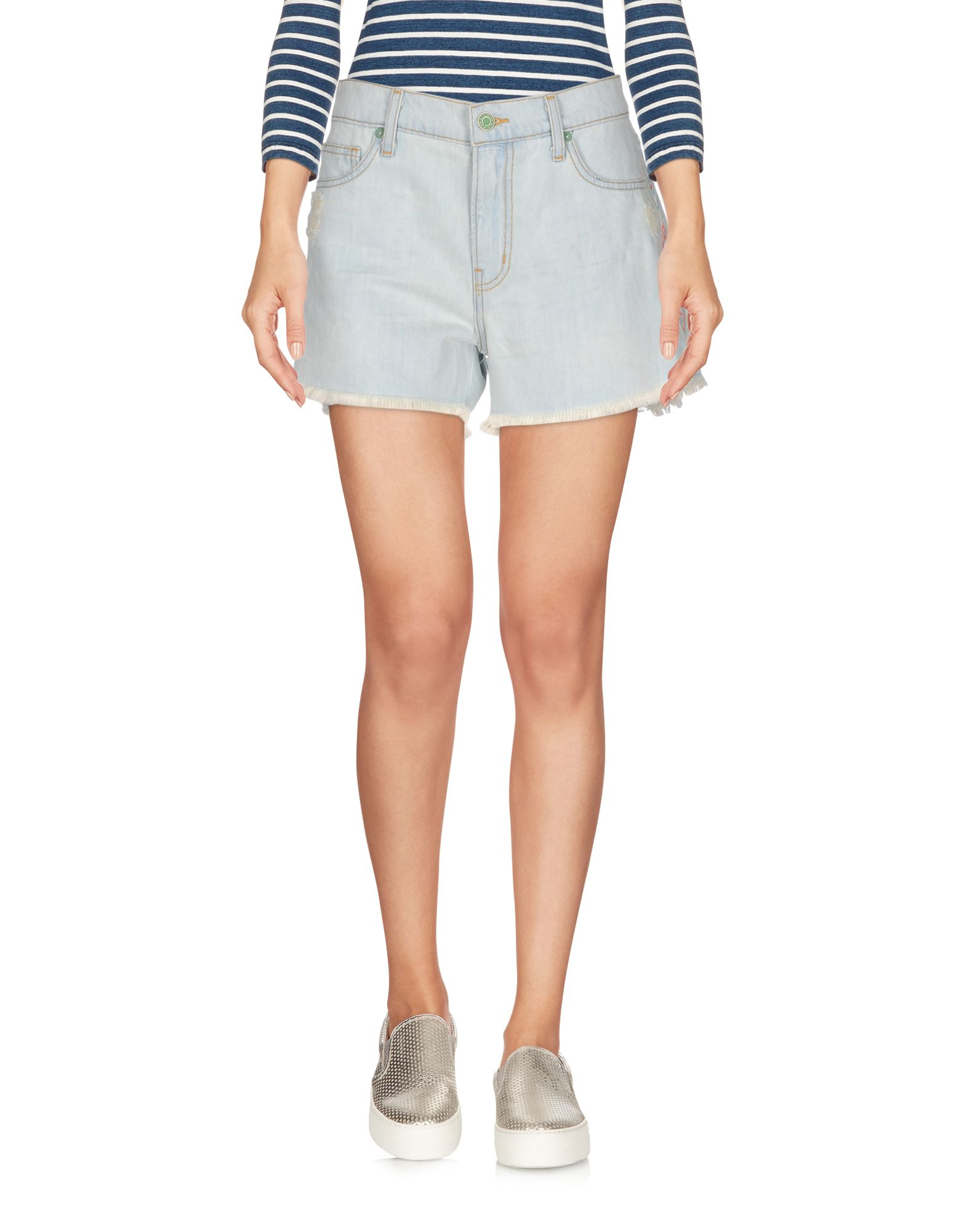 SANDRINE ROSE Джинсовые шорты superfine джинсовые шорты