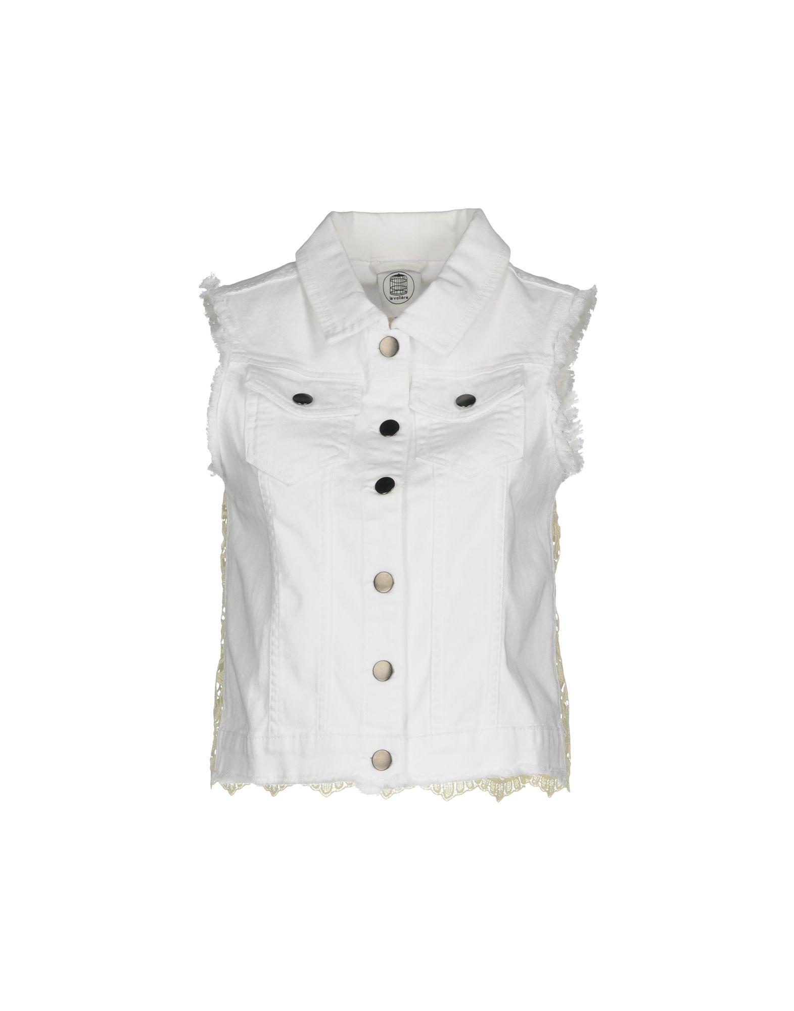 LE VOLIÈRE Джинсовая верхняя одежда