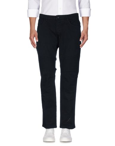 Фото - Джинсовые брюки от PAOLO PECORA черного цвета