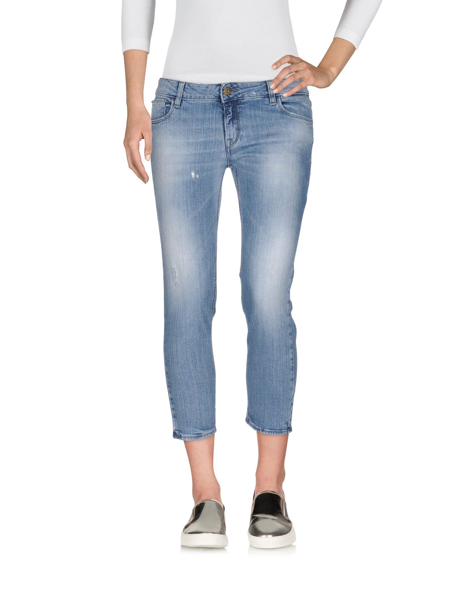 цена CYCLE Джинсовые брюки-капри онлайн в 2017 году