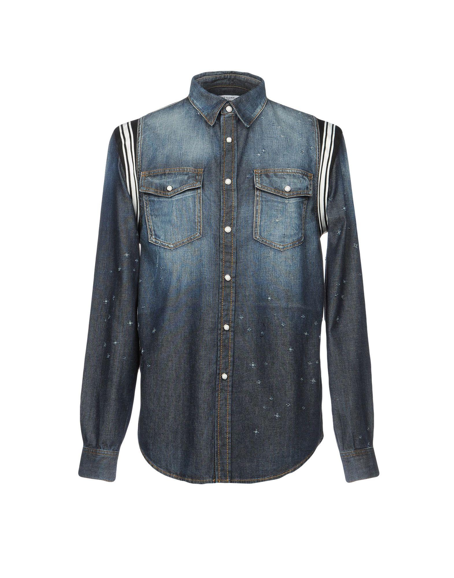 GIVENCHY Джинсовая рубашка женская рубашка givenchy 15 690