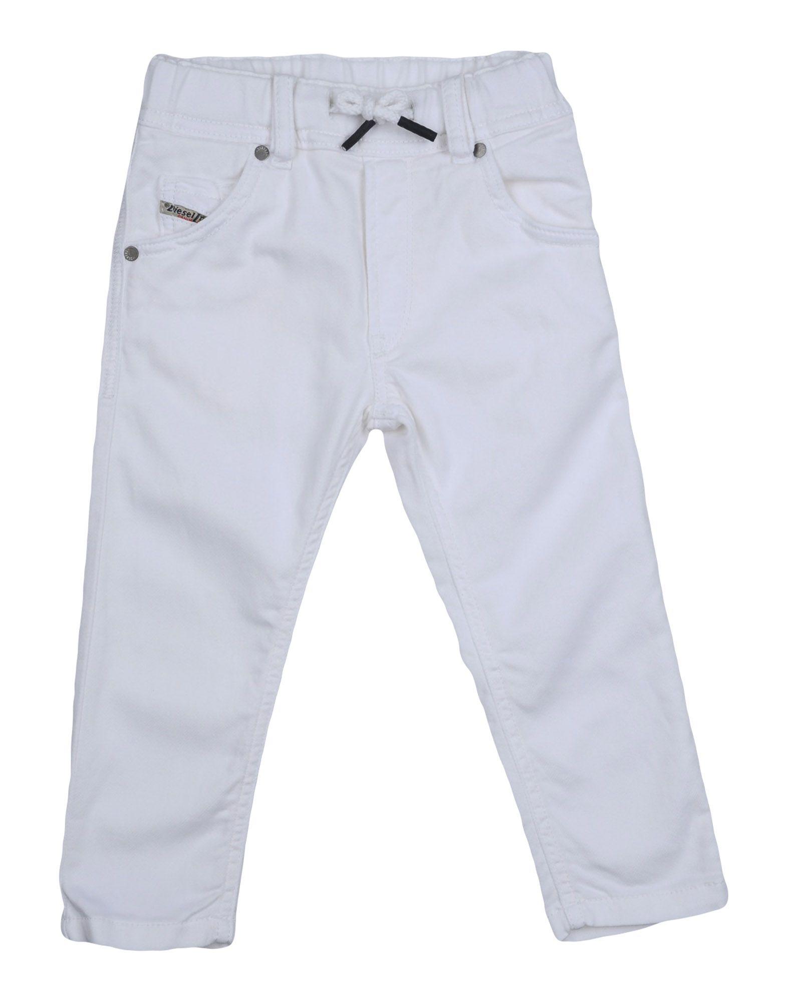 DIESEL Джинсовые брюки брюки текстильные джинсовые для девочек 110 362011 синий деним ean 4690244736511