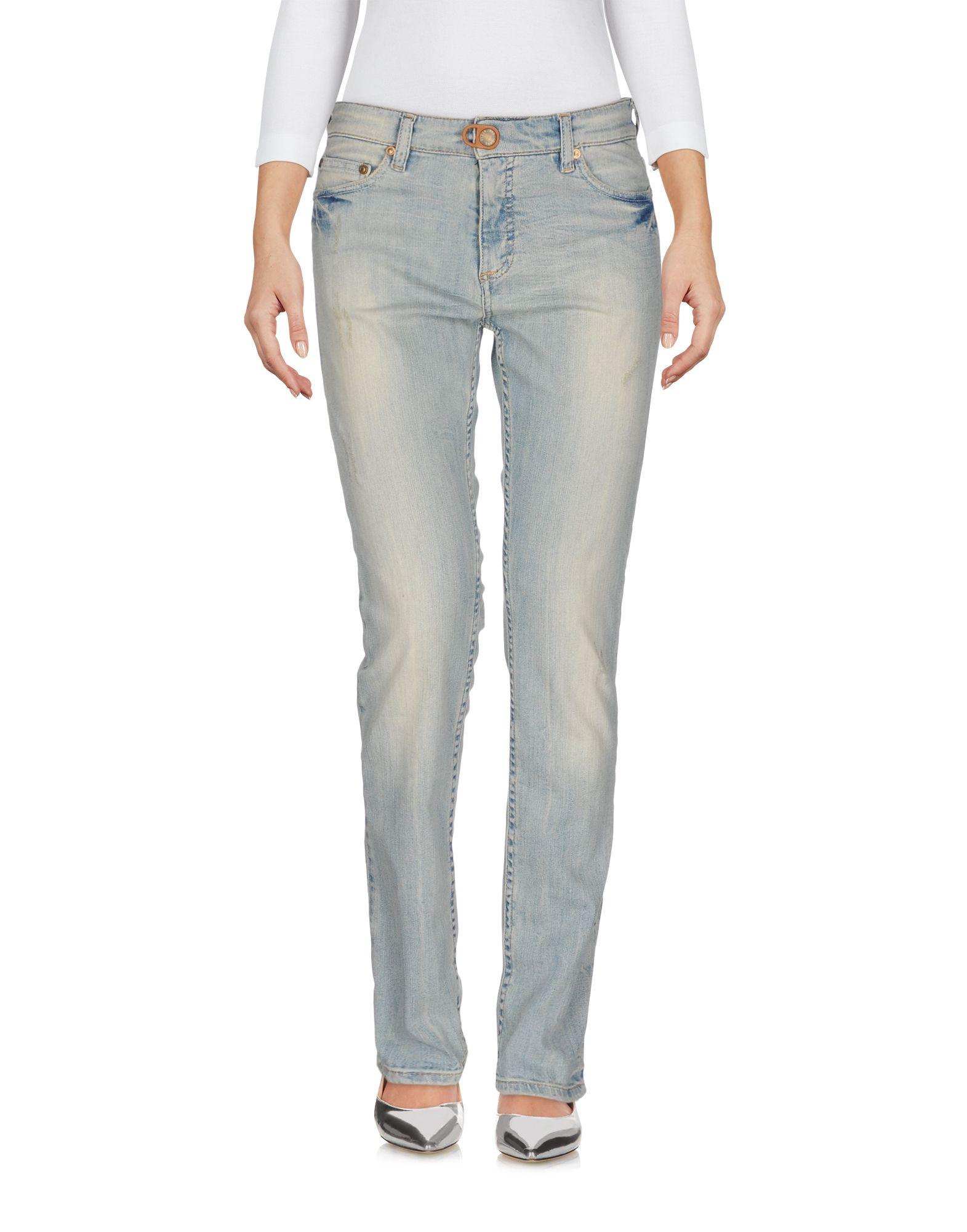 PLEIN SUD Джинсовые брюки цена 2017