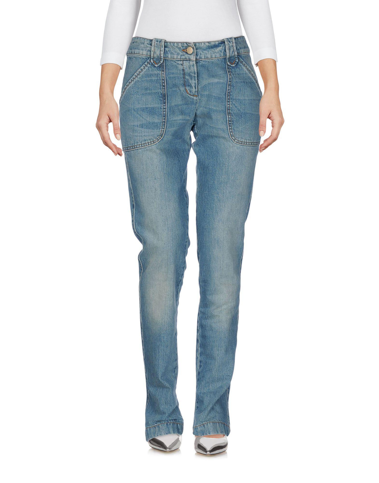 REDValentino Джинсовые брюки женские брюки лэйт светлый размер 56
