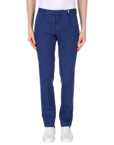 Фото - Повседневные брюки от GIO ZUBON темно-синего цвета