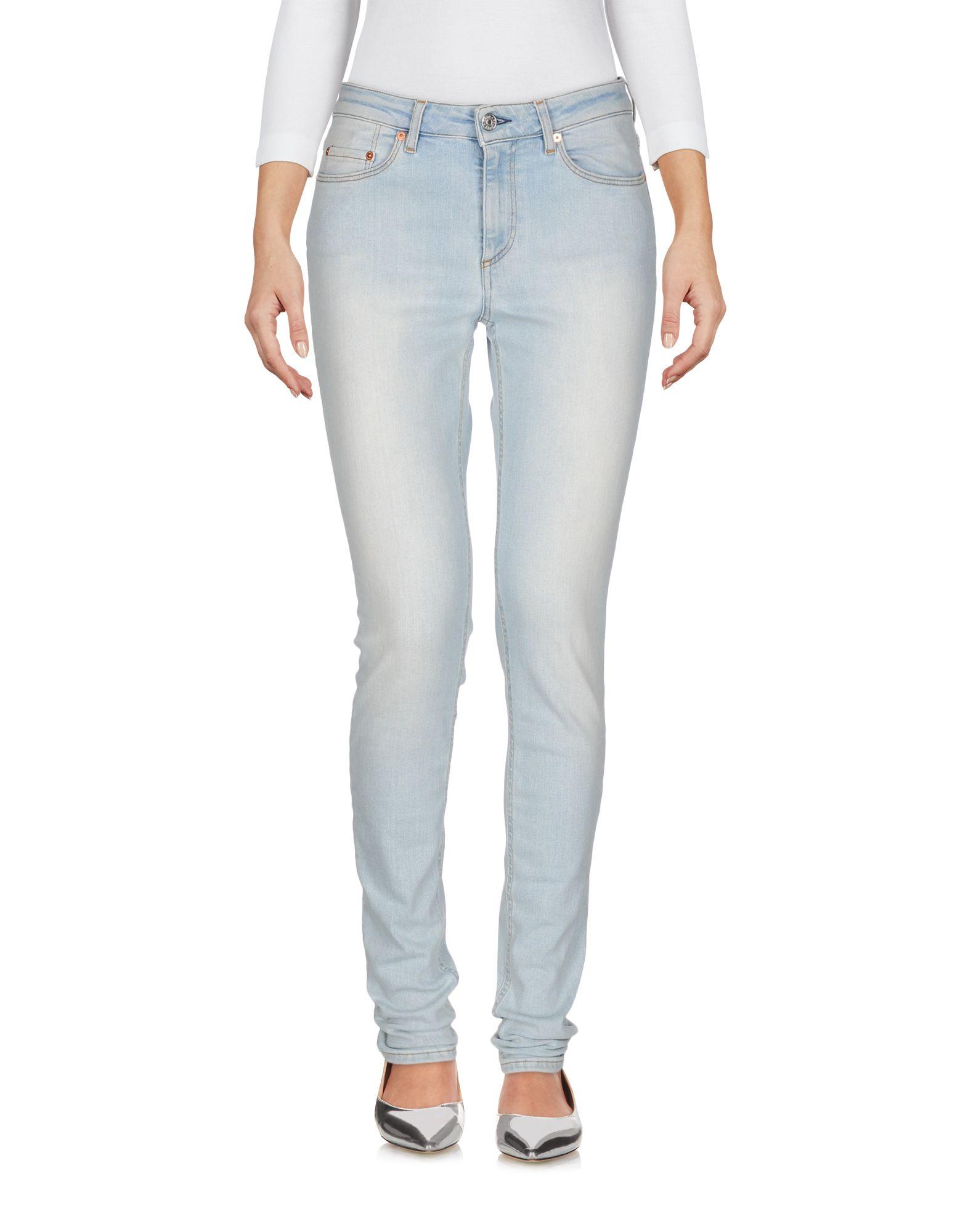 ACNE STUDIOS Джинсовые брюки женские брюки лэйт светлый размер 56