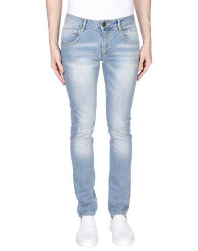 Купить Джинсовые брюки от ONE SEVEN TWO синего цвета