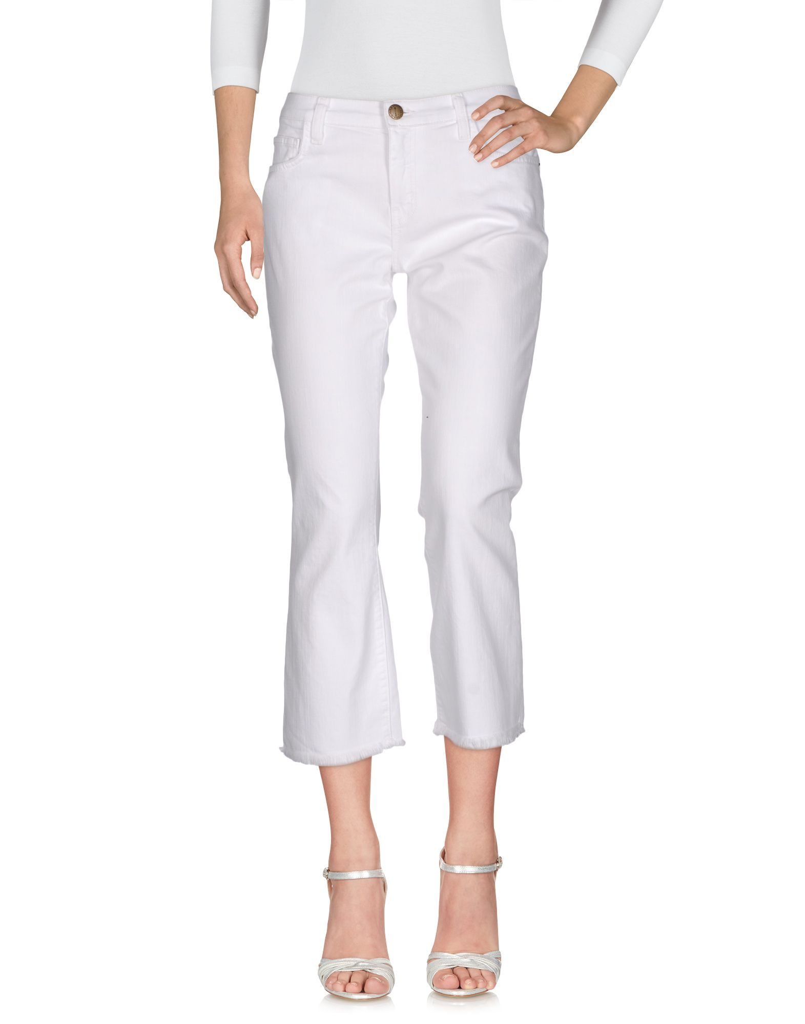 CURRENT/ELLIOTT Джинсовые брюки luxury stand flip