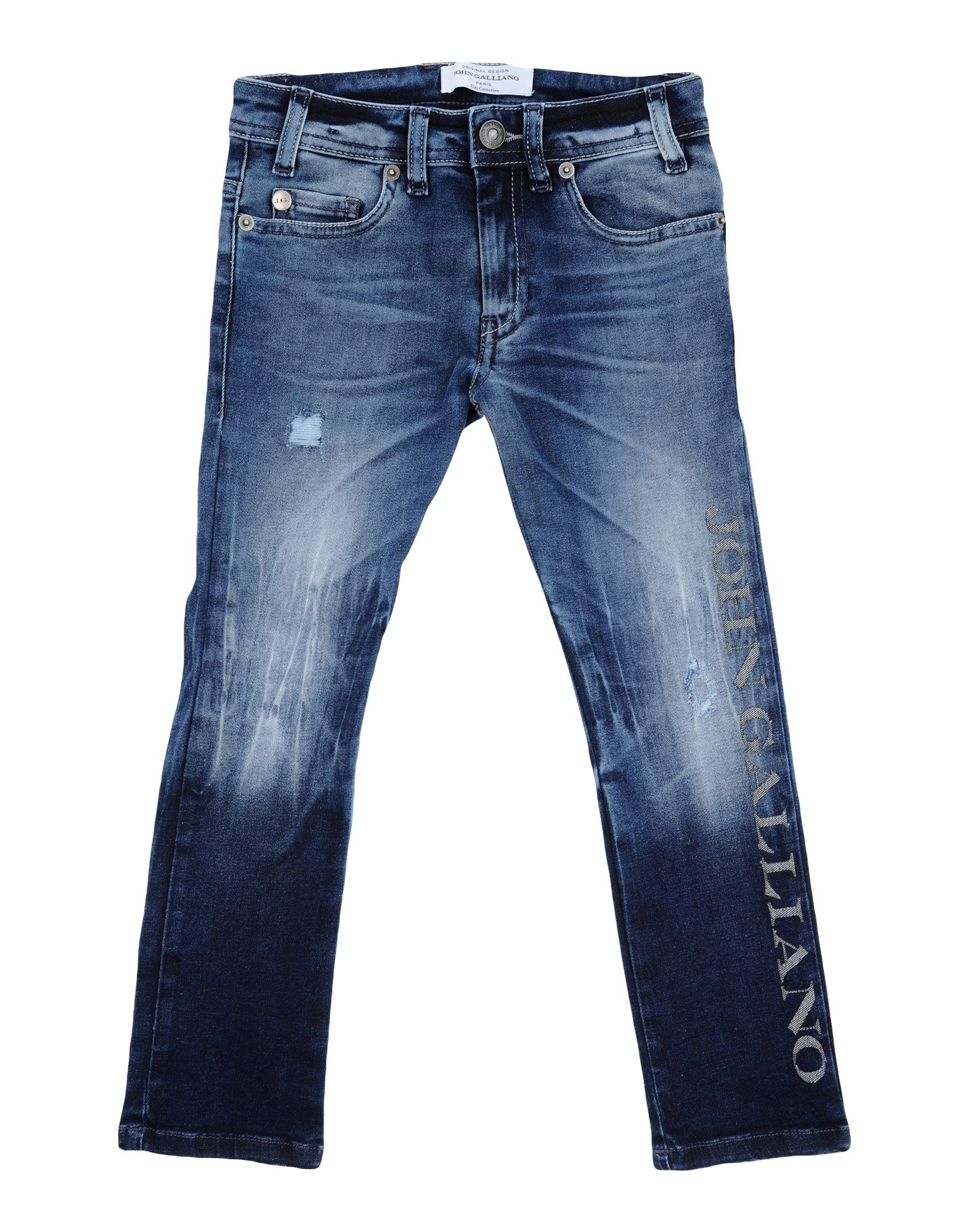 JOHN GALLIANO KIDS Джинсовые брюки стоимость
