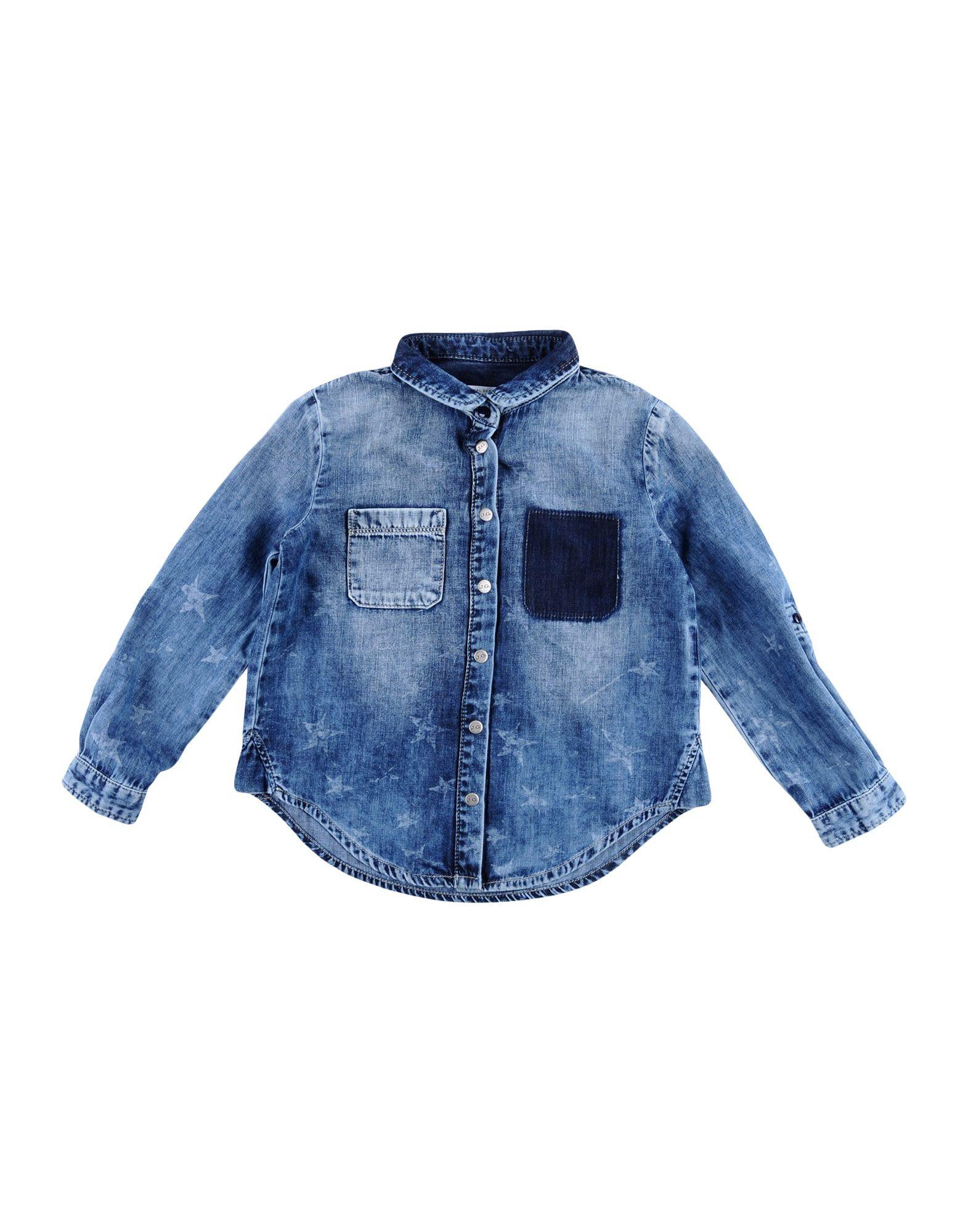 JOHN GALLIANO KIDS Джинсовая рубашка john galliano kids 325816