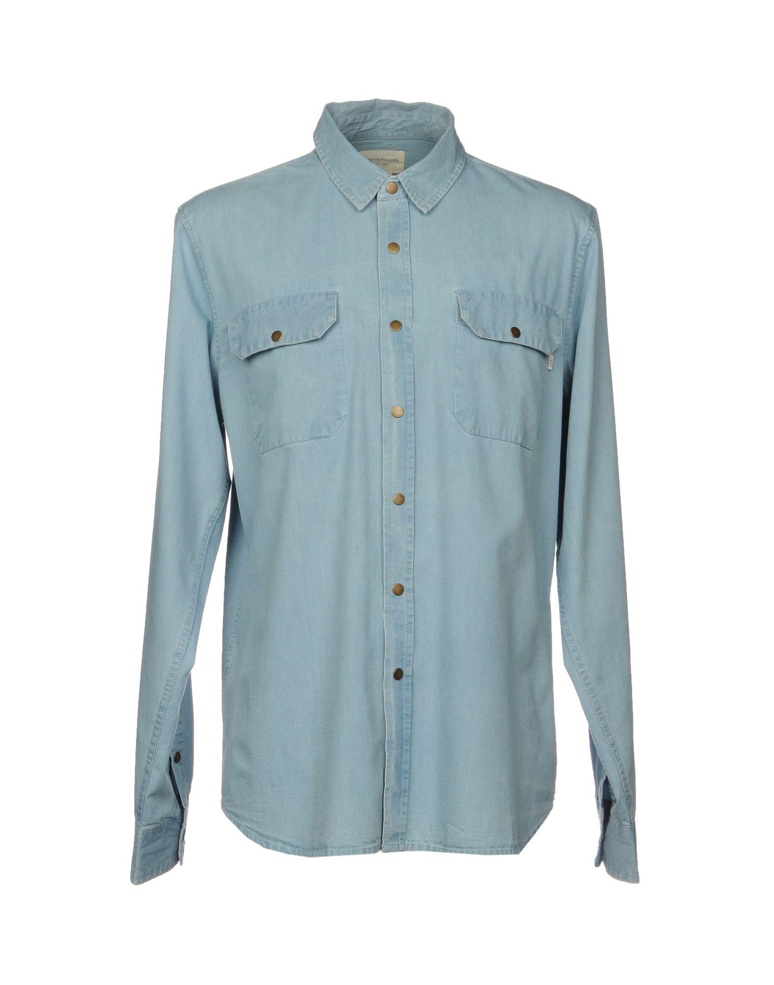 OBEY PROPAGANDA Джинсовая рубашка