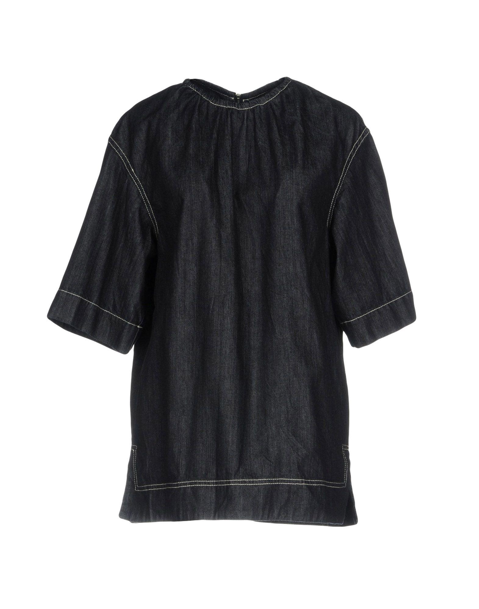 MARNI Джинсовая рубашка marni рубашка с длинными рукавами