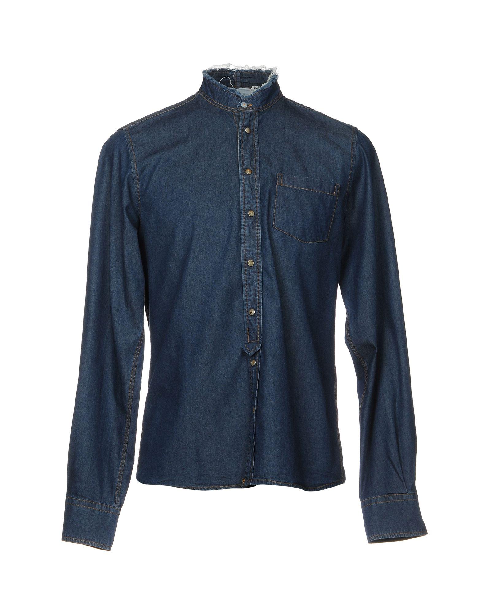 где купить AUTHENTIC ORIGINAL VINTAGE STYLE Джинсовая рубашка по лучшей цене