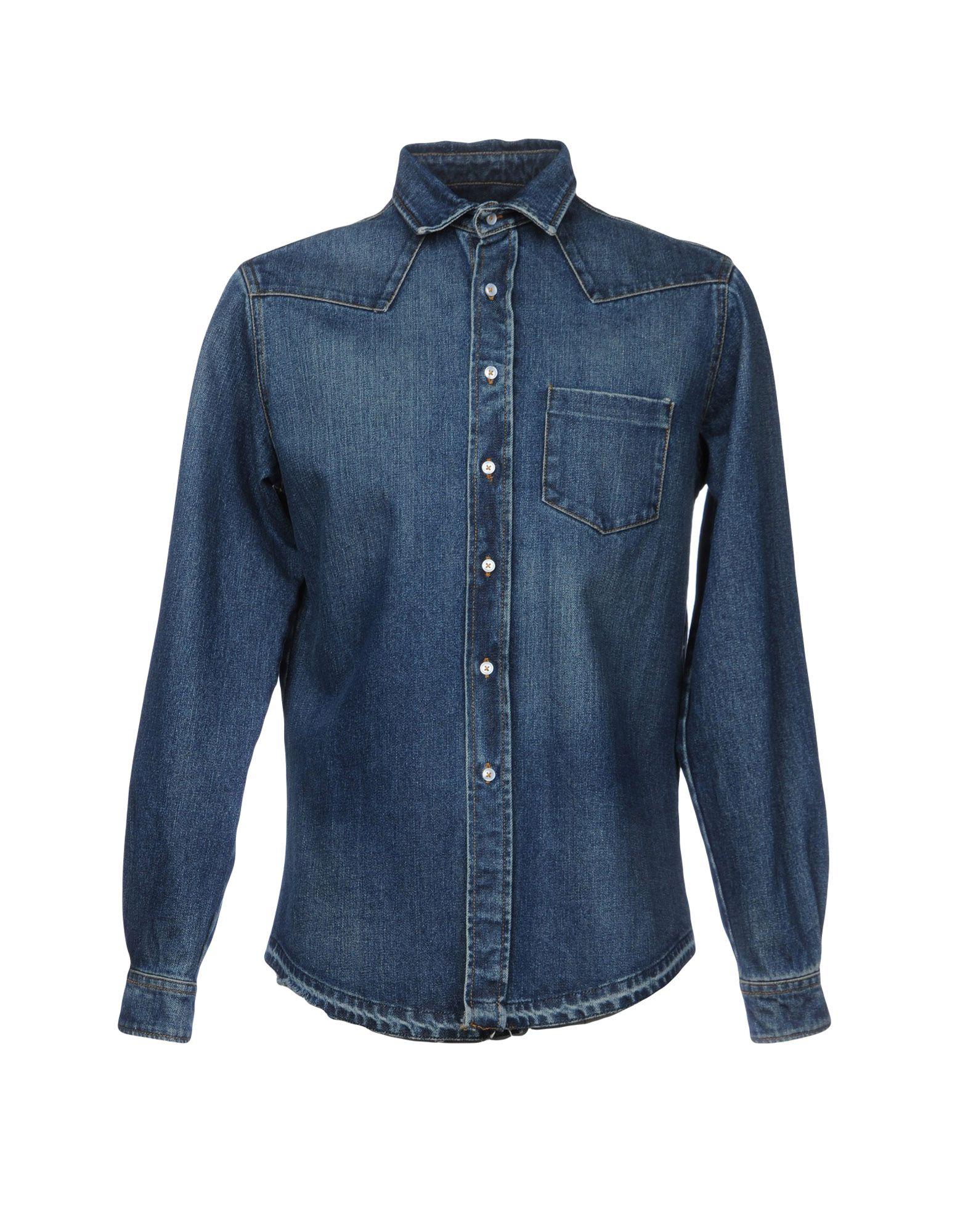 PAURA Джинсовая рубашка paura джинсовая верхняя одежда