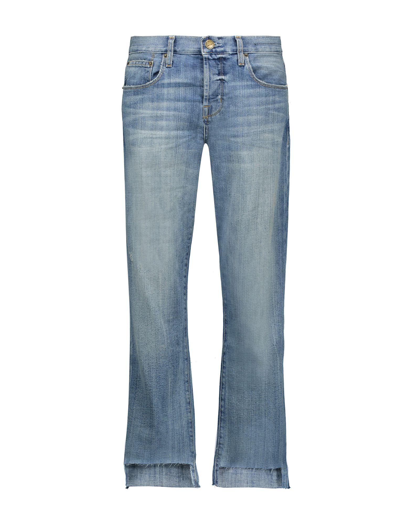 CURRENT/ELLIOTT Джинсовые брюки женские брюки лэйт светлый размер 56