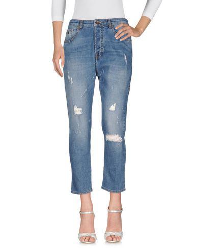 Фото - Джинсовые брюки от BERNA синего цвета