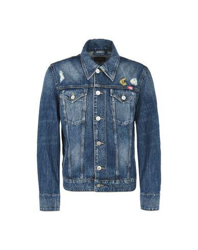 Фото - Джинсовая верхняя одежда от VIVIENNE WESTWOOD ANGLOMANIA синего цвета