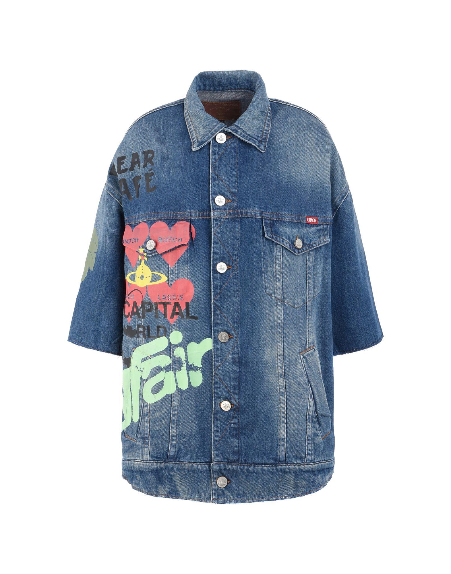 VIVIENNE WESTWOOD ANGLOMANIA Denim outerwear