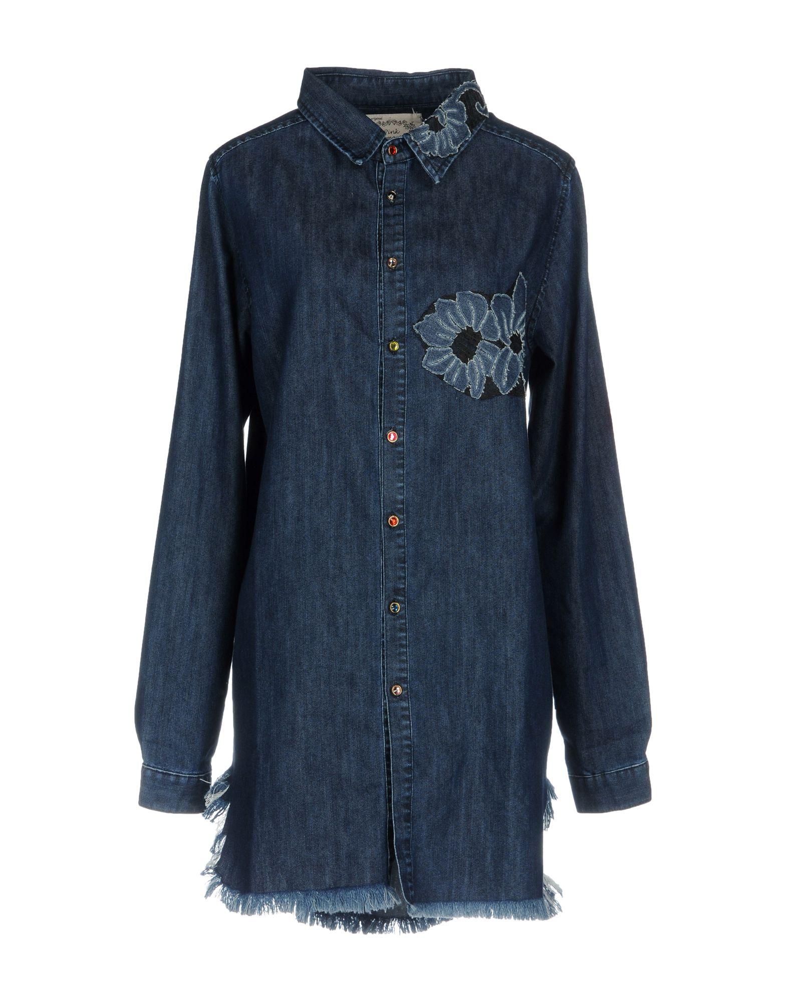 где купить  PINK MEMORIES Джинсовая рубашка  по лучшей цене