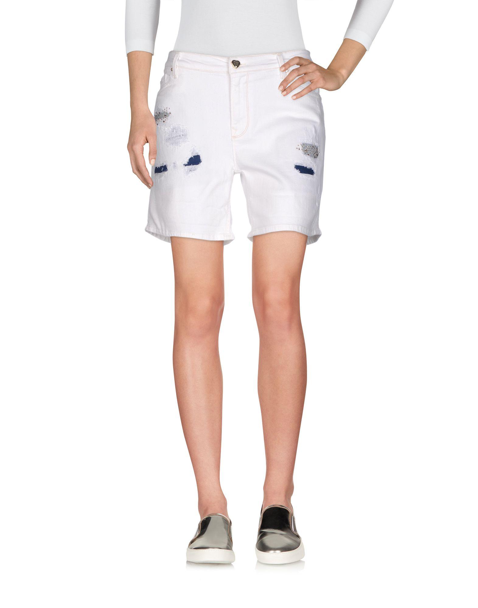 Фото VDP COLLECTION Джинсовые шорты. Купить с доставкой