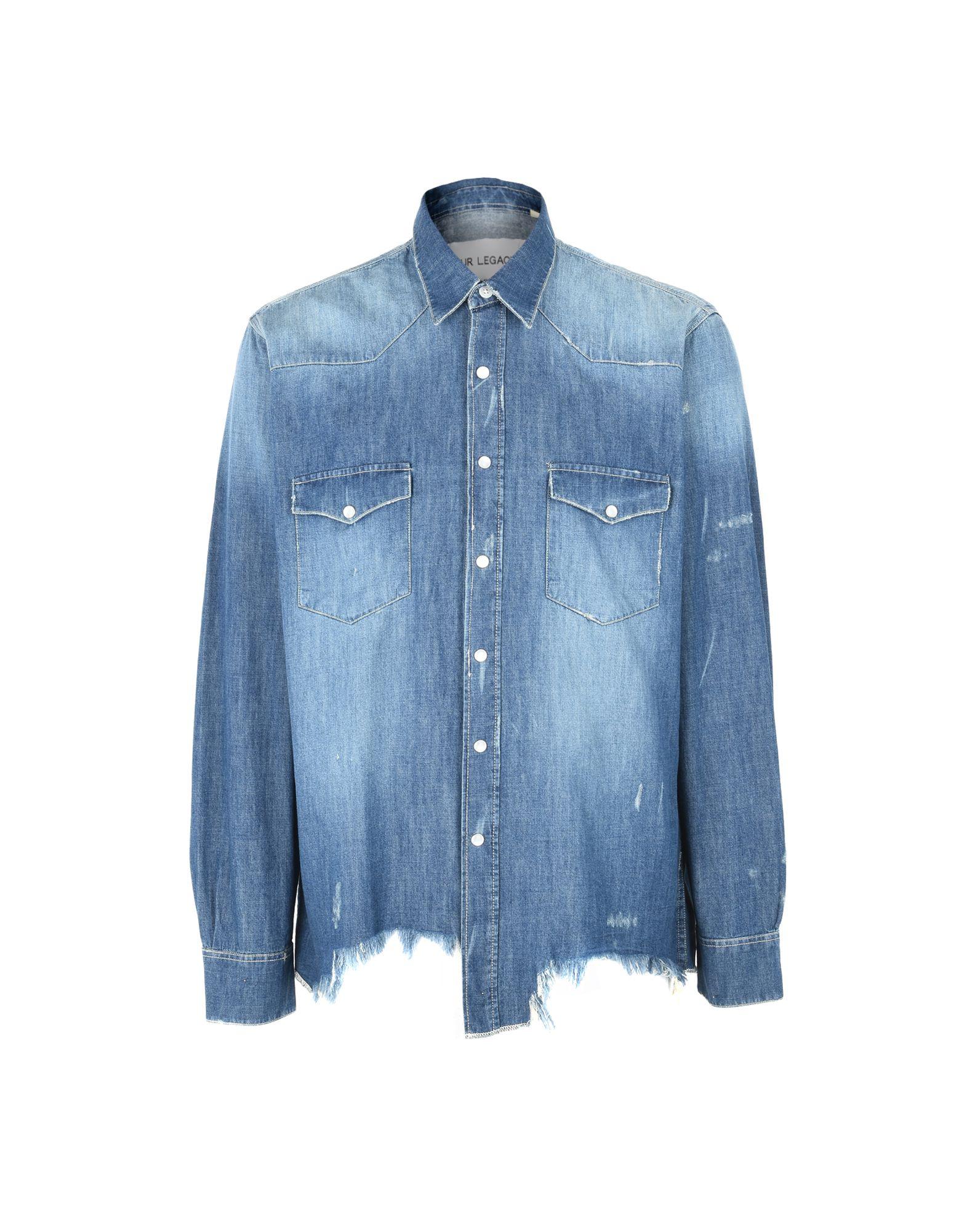 OUR LEGACY Джинсовая рубашка our legacy куртка