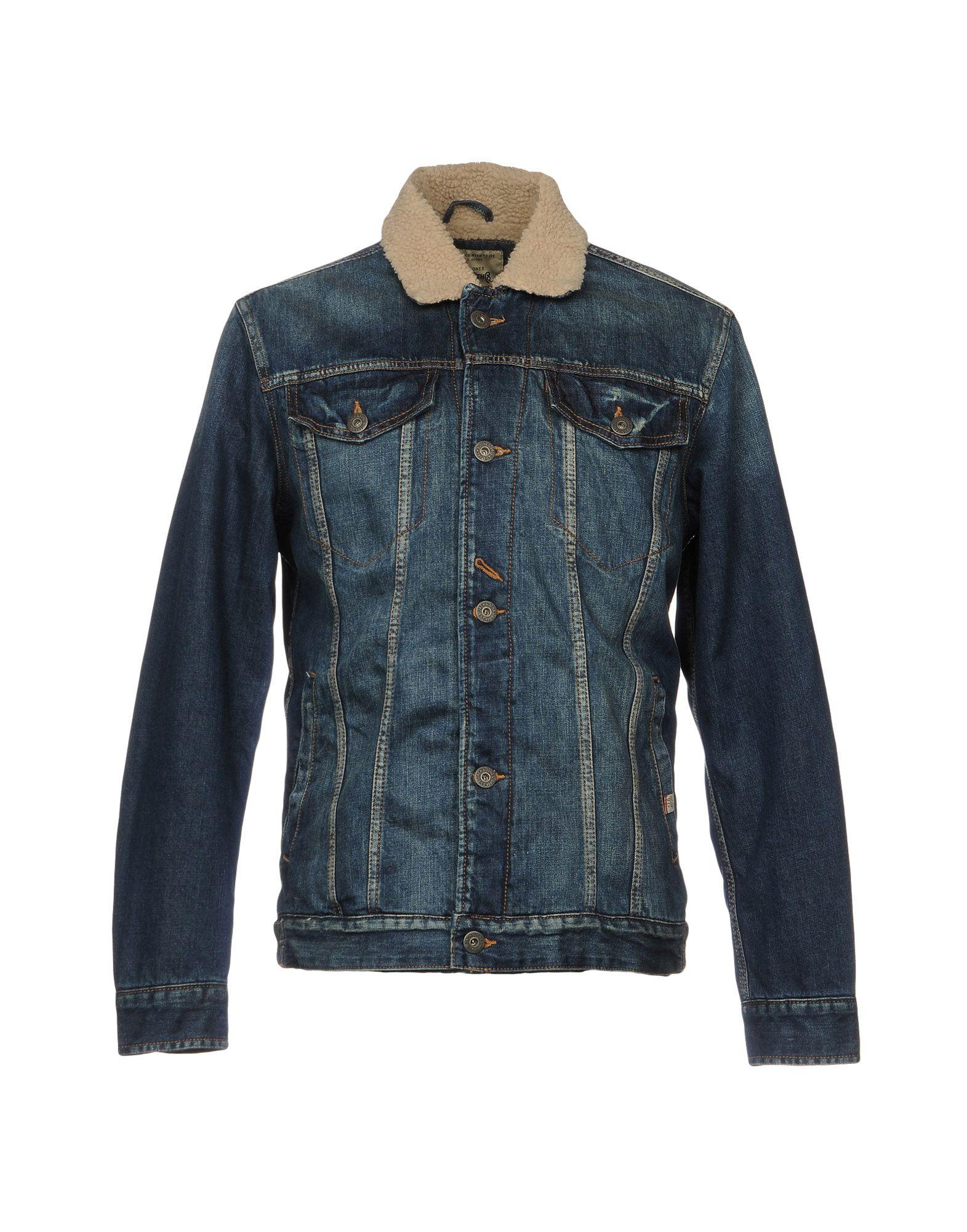 JACK & JONES Джинсовая верхняя одежда рубашка джинсовая jack