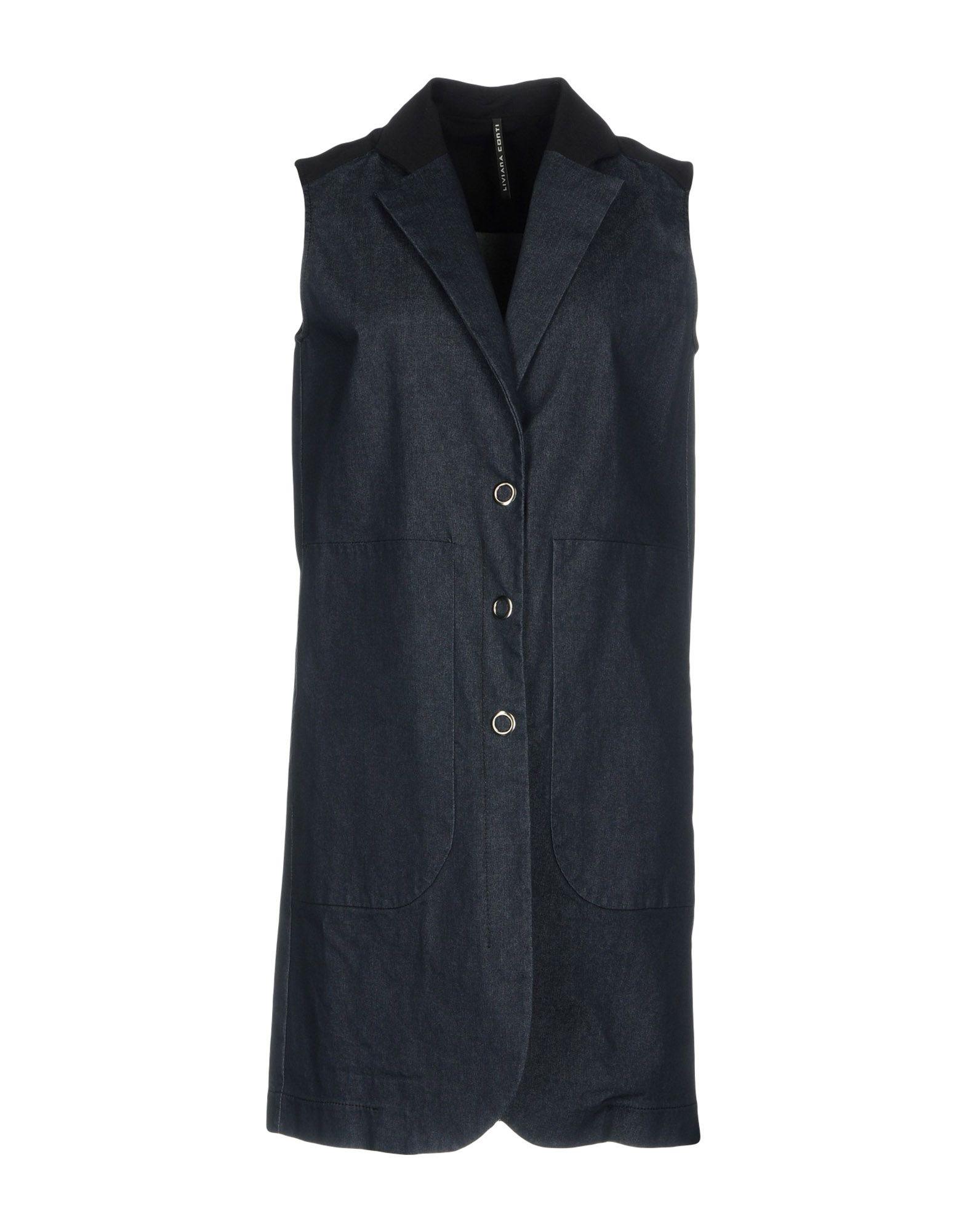 цены на LIVIANA CONTI Джинсовая верхняя одежда в интернет-магазинах