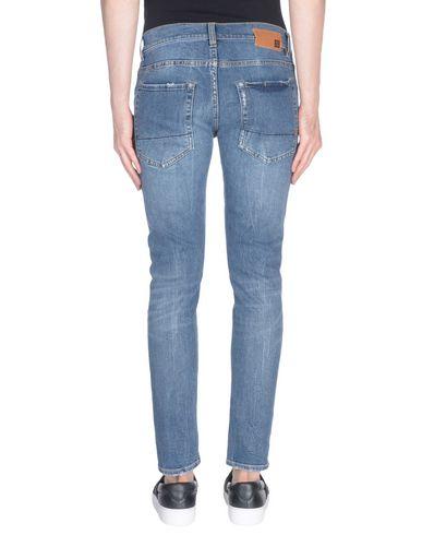 Фото 2 - Джинсовые брюки от 2W2M синего цвета