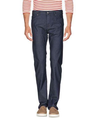 Фото - Джинсовые брюки от BOSS BLACK синего цвета