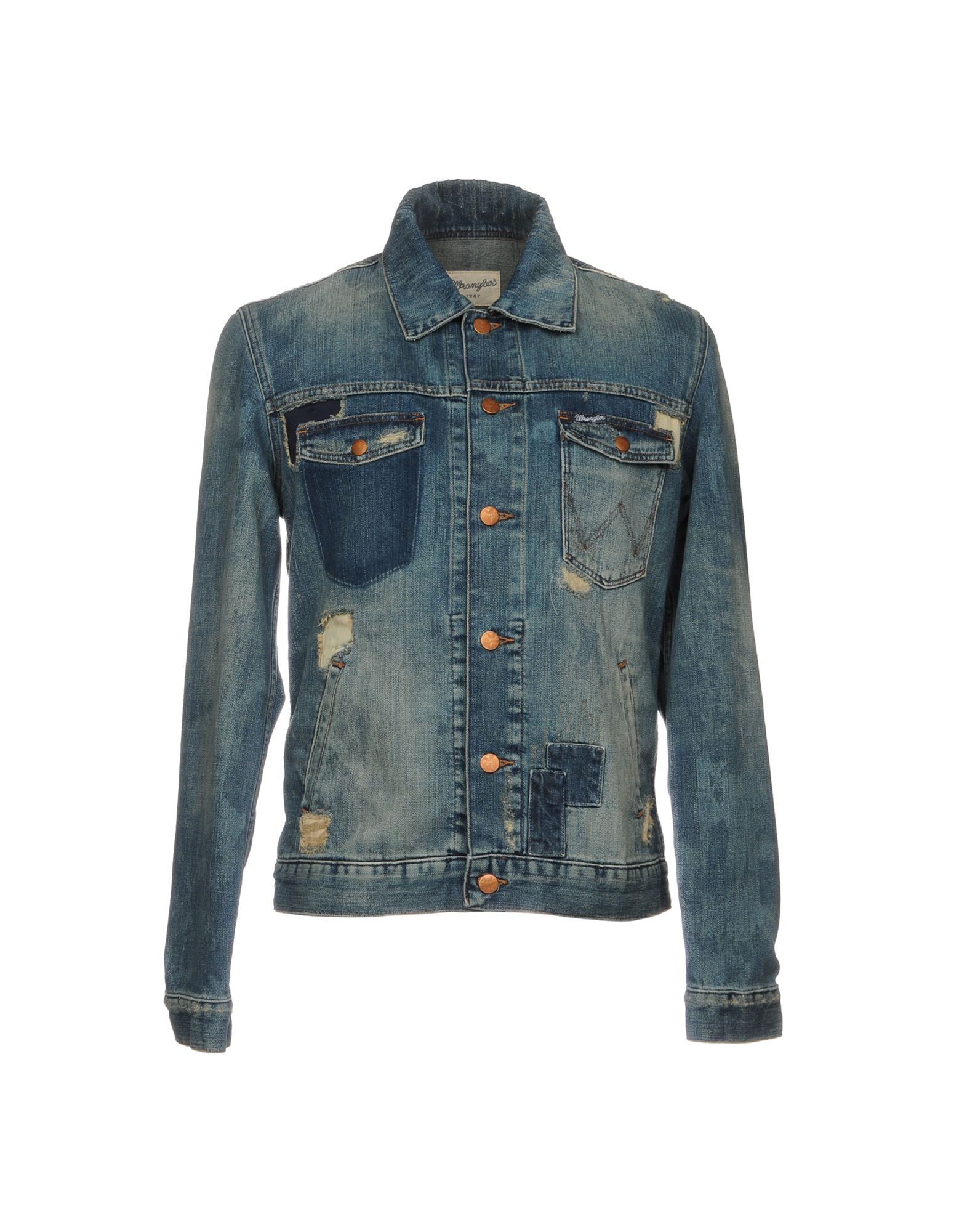wrangler джинсовая верхняя одежда WRANGLER Джинсовая верхняя одежда