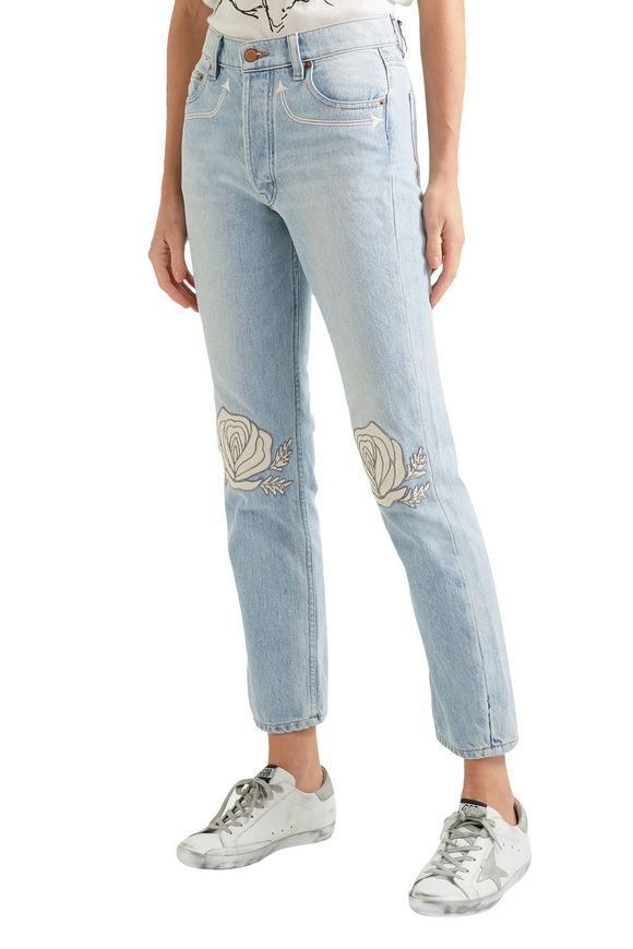 Song of the West high-rise straight-leg jeans | BLISS AND MISCHIEF | Sale up  to 70% off | THE OUTNET