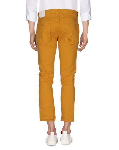 Фото 2 - Джинсовые брюки цвет верблюжий