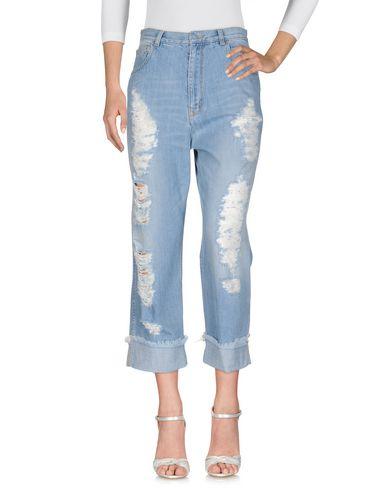 Фото - Джинсовые брюки от GOLD CASE синего цвета