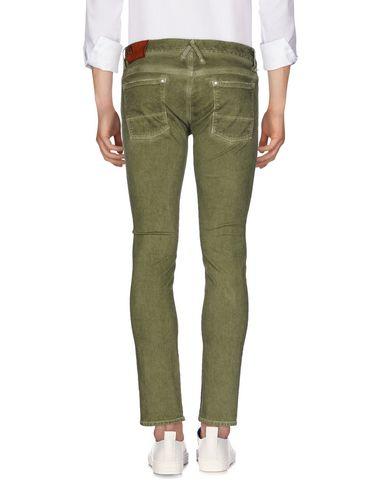 Фото 2 - Джинсовые брюки зеленого цвета
