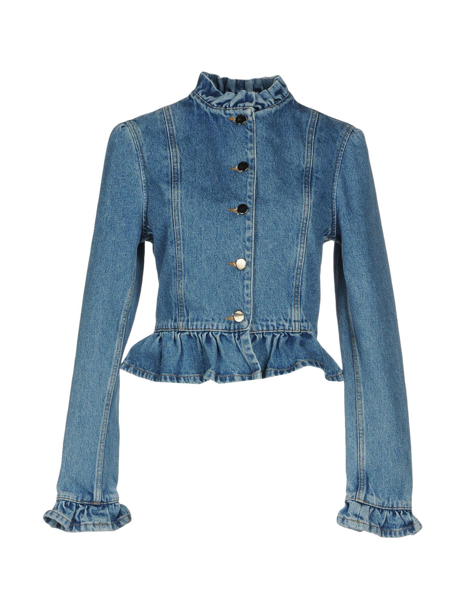 J.W.ANDERSON Джинсовая верхняя одежда wood wood джинсовая верхняя одежда