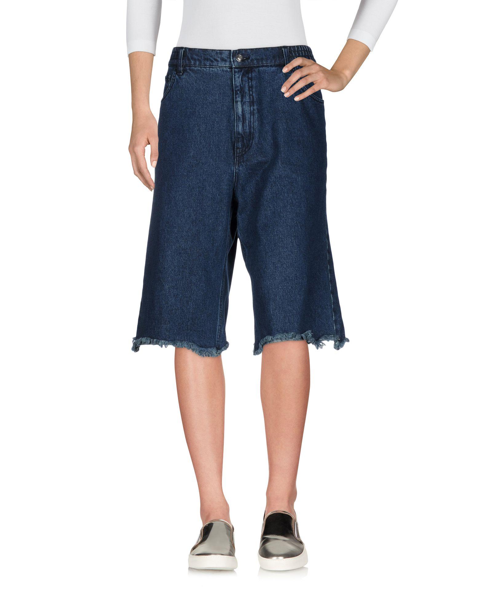 цена CHEAP MONDAY Джинсовые брюки-капри онлайн в 2017 году